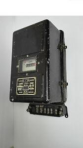 Antiguo contador de luz Metalico Modelo TB.5 Año 1933. CDC S.A. 5 amperios