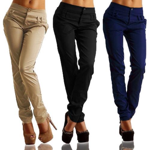 dei della matita Pantaloni affari pantaloni matita skinny di di della sottili vita casuali modo della della matita alta wvqv0AxrO