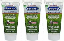 Benadryl Children's Anti-Itch Cooling Gel, 3 oz ea, for kids 2+   (3 PACK)
