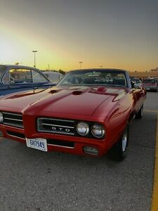 1969 Pontiac GTO Convertible 400 **REAL 242 MATCHING NUMBERS**