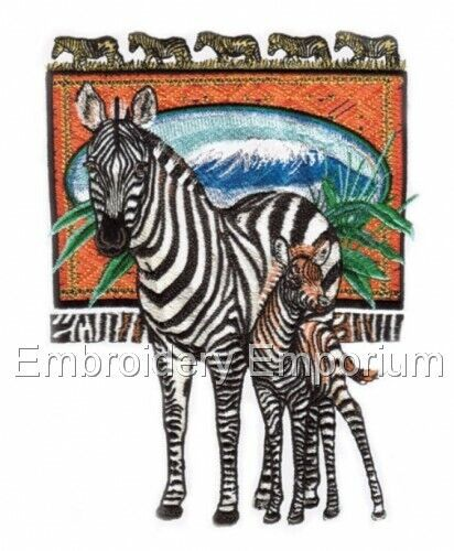 Safari EXPEDITION collection-Machine Embroidery Designs sur cd ou USB