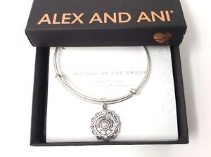 Details About Alex And Ani Mother Of The Groom Bangle Bracelet Rafaelian Silver Nwtbc