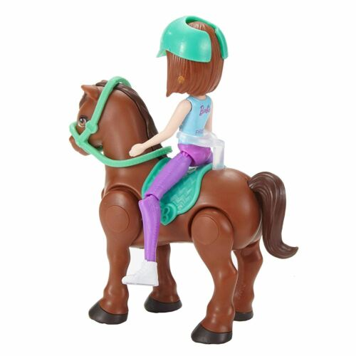 Mattel Barbie on the Go Bruna Figure /& Pony