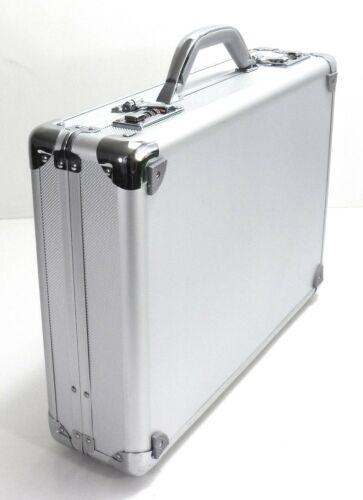 Executive Aluminium Business Briefcase Attache Travel Case Office Work Bag UK