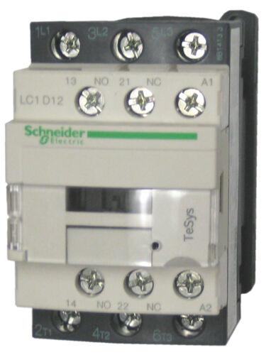 Schneider Electric LC1D12 M7 12 AMP contactor 220v AC coil