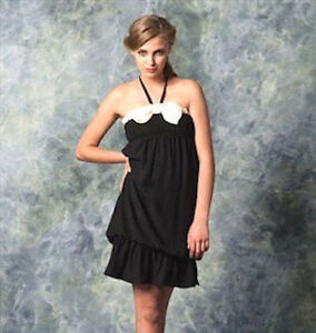 Details about NEW NWT ZARA LITTLE BLACK DRESS