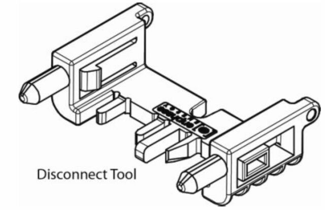 5 Qty Enphase Disconnect Tool For M215 M250 Inverters Et Disc Pn