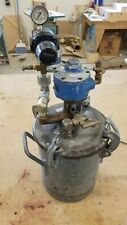Binks 2 12 Gallon Steel Paint Pressure Pot In Good Condition