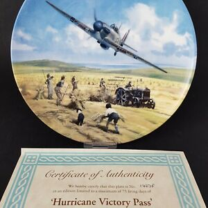 Royal-Doulton-Hurricane-Victory-Pass-Heroes-of-the-Sky-COA-amp-Box-Ltd-Edition-S