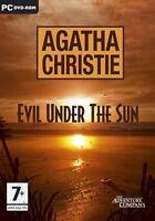 Agatha Christie Evil Under The Sun For Pc Dvd Sealed