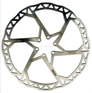 KCNC Razor Mountain Cyclocross Bicycle Bike MTB Disc Brake Rotor 203mm Silver