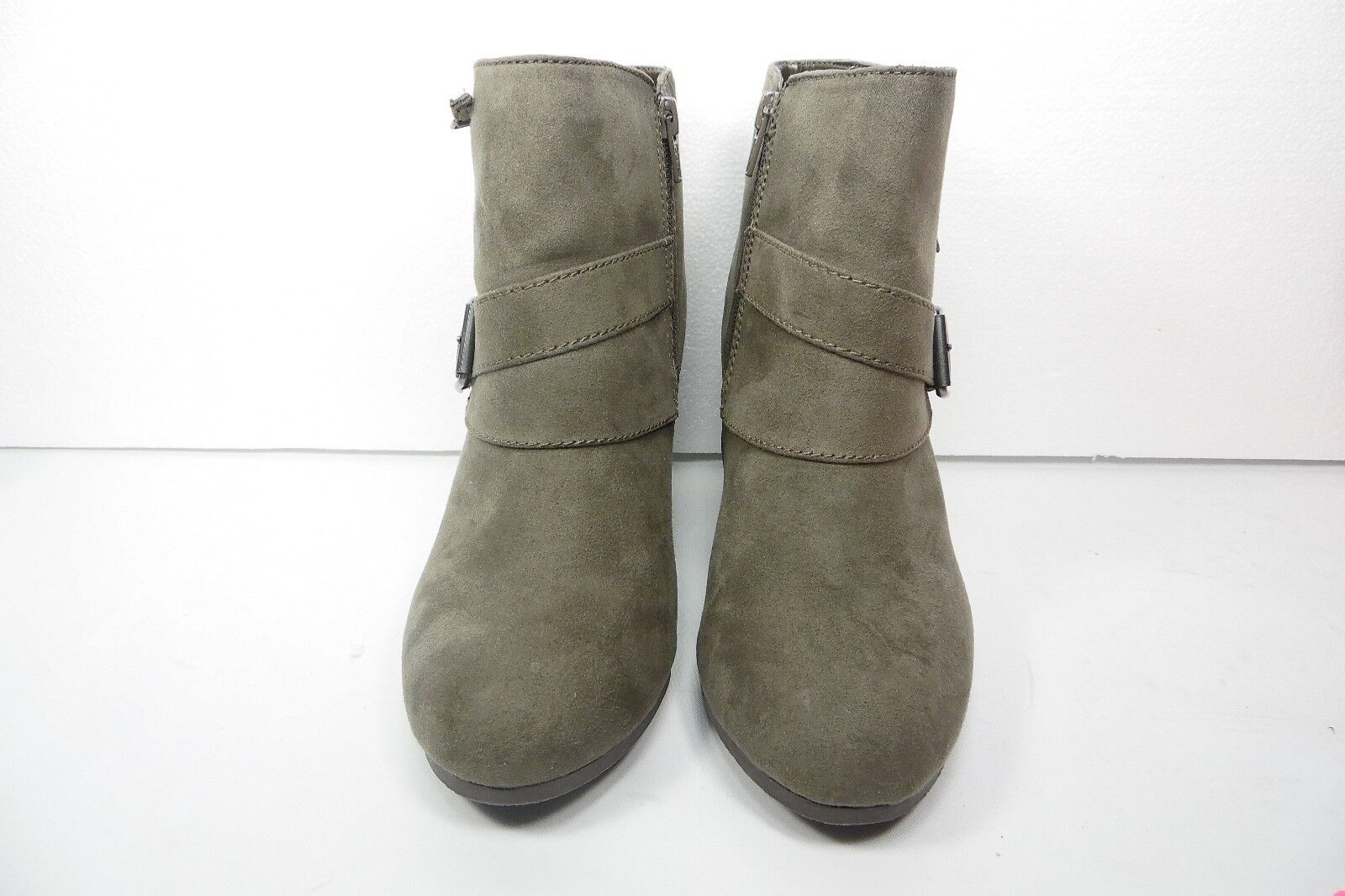 Arizona Lady Womens Wedges Ankle Boots Taupe Size 8M