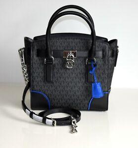 Michael KORS Womens Bag Hamilton SM EW Satchel Black