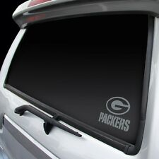 Green Bay Packers Chrome Window Graphic [NEW] Silver Sticker Decal Car Auto NFL