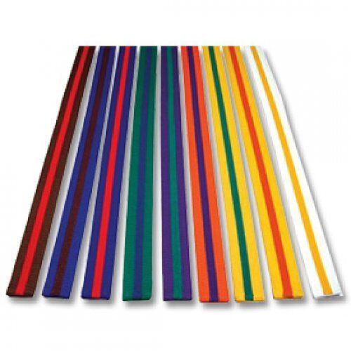 PLAYWELL à rayures rayures rayures colorés classement Ceinture 220cm karaté judo Taekwondo f1b873