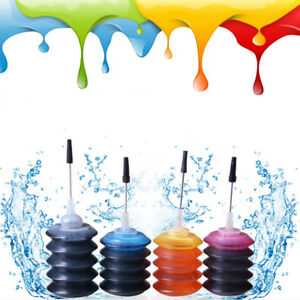 1-X-30ml-Bottle-Color-Ink-Jet-Cartridge-Refill-Kit-for-HP-Canon-Brother-Printer