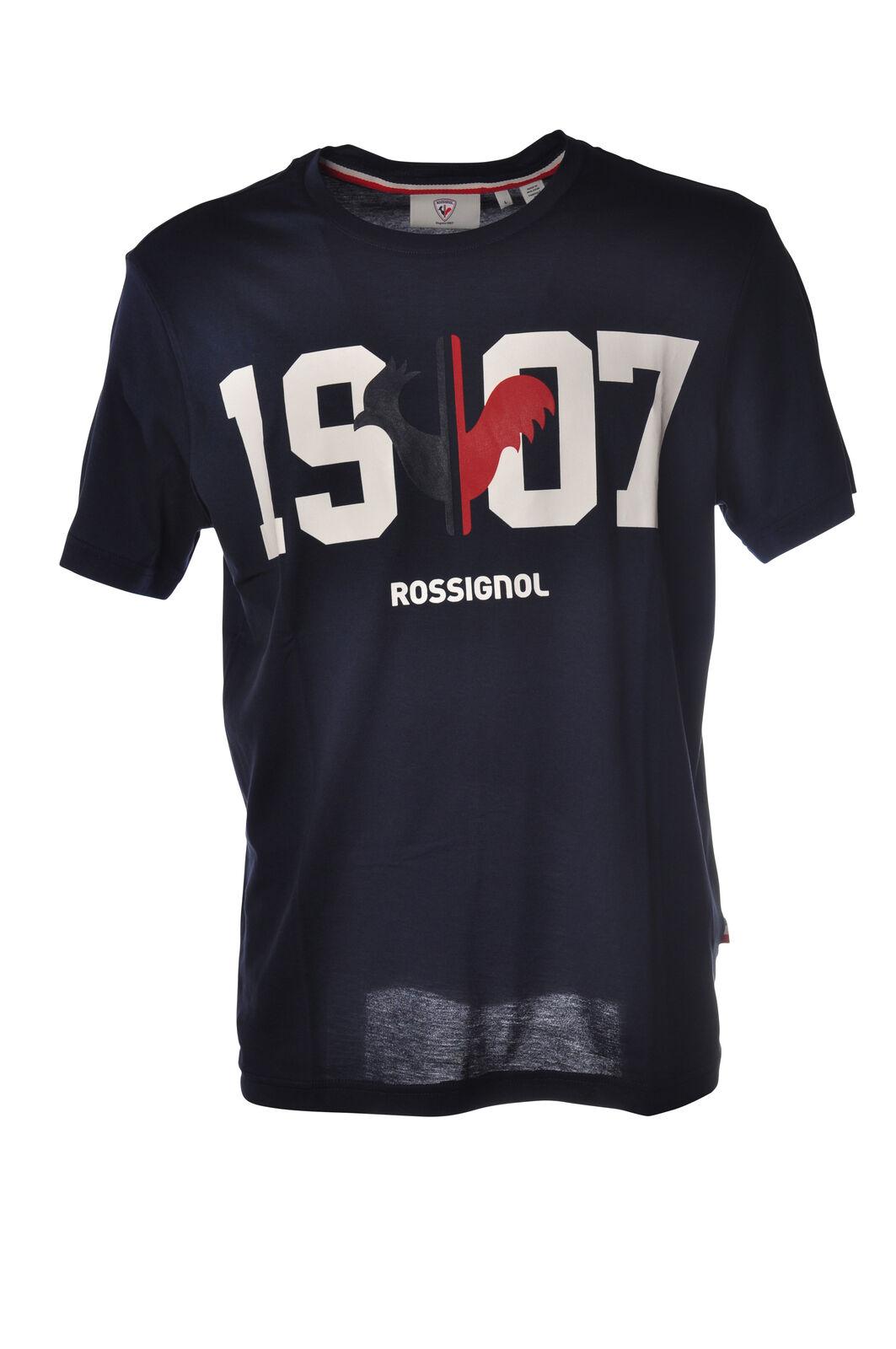 Rossignol - Topwear-T-shirts - Man - bluee - 5208629L183314