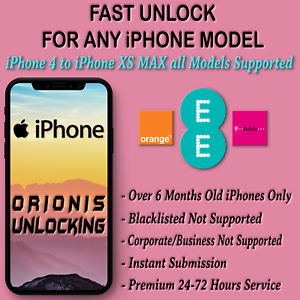 Unlock Code Service For Apple Iphone 8 8 Plus Iphone X Ee T Mobile Uk Unlocking Ebay