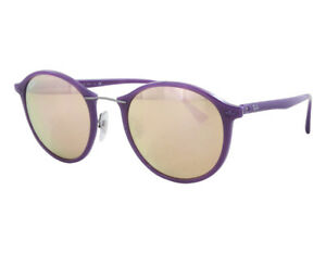 8711228d90 NEW Ray Ban RB 4242 6034 2Y 49mm Violet / Copper Mirror Sunglasses ...