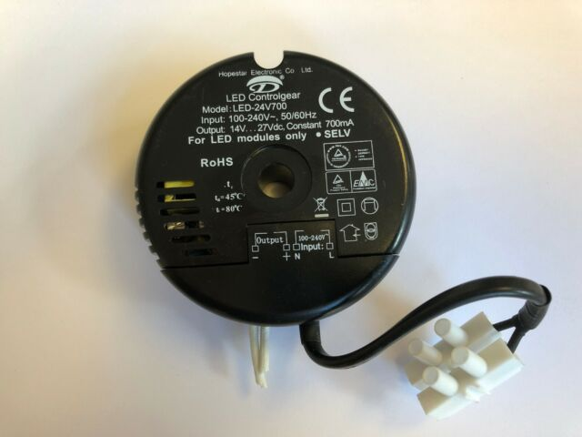 Hopestar LED Controlgear LED-20V500P Steckernetzteil Netzteil 6-20Vdc 500mA Neu