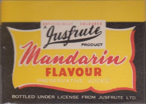 1950-60AU just fruit mandarin flavour artificial LOA6
