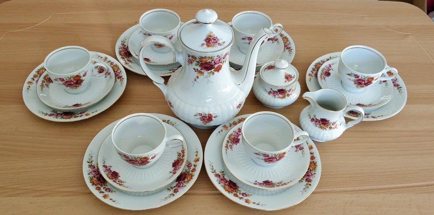 Kaffeeservice 6 Personen aus Porzellan von Mittereich | Große Klassifizierung  Klassifizierung  Klassifizierung  d8113a