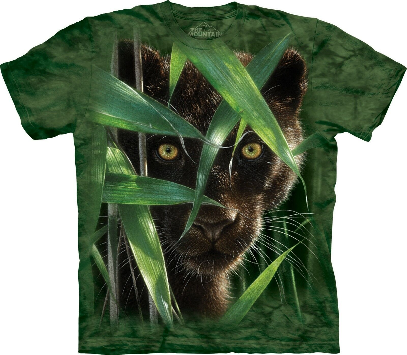 Wild Eyes Big Cats T Shirt Adult Unisex The Mountain