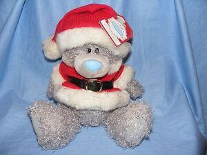 Me-To-You-Tatty-Teddy-Natale-Orso-con-Babbo-Completo-Regalo-Presente-Nuovo