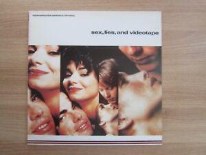 Cliff-Martinez-Sex-Lies-And-Videotape-OST-1990-Korea-Orig-LP-INSERT-RARE