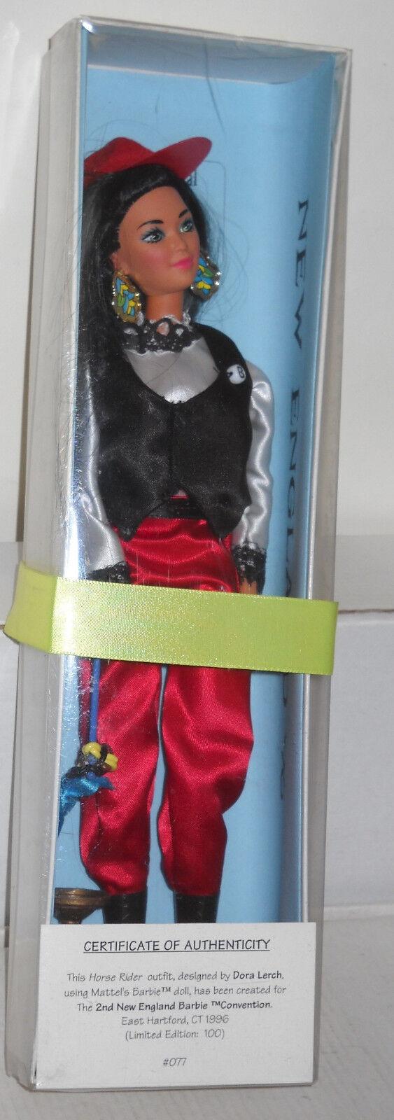Convenio de la muñeca Barbie jinete del caballo Hartford, CT 1996