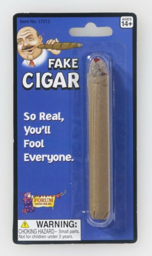 Gags Fake Cigar Pranks Theatrical or Magical Prop Halloween Jokes