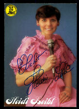 Heidi Loibl Autogrammkarte Original Signiert ## BC 48506