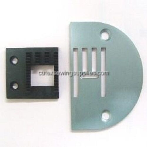 199RB Series Zizg-Zag Machine Needle Plate /& Feed Dog Set 199R Consew 146RB