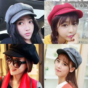 Femme-Fille-Mode-Chapeau-Casquette-Beret-Bonnet-Chaud-Hiver-Neige-Tricot-Cap-HAT