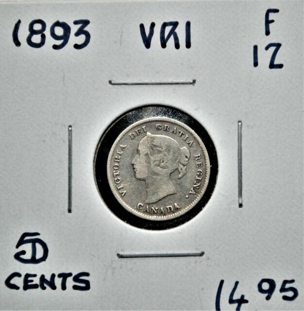 1893 Canada 5 Cent