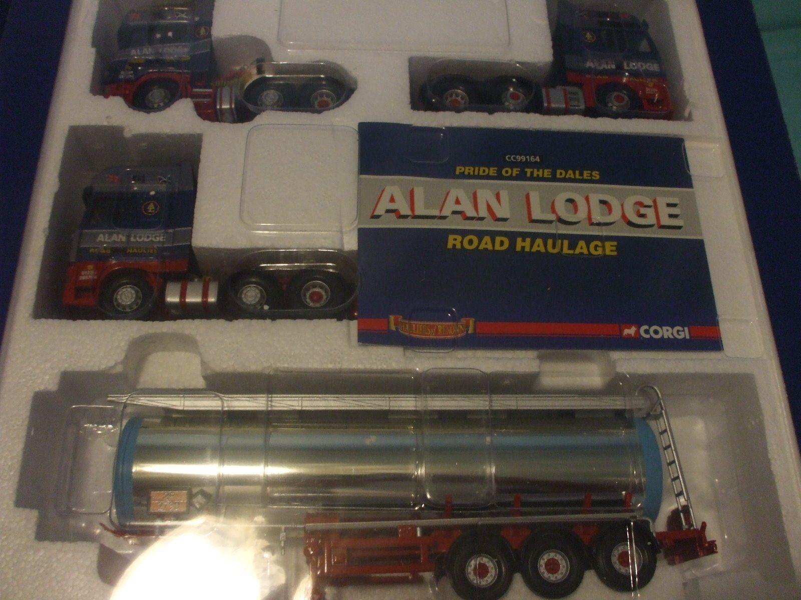 Corgi Box Set. -CC99164. Alan Lodge 1 50th Scale Diecast Set.