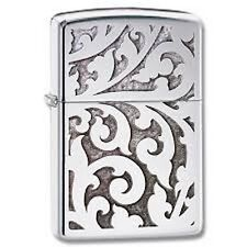 ZIPPO  accendino benzina 28530 FILIGREE antivento veneziano antico lighter