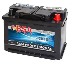 AGM Batterie Solarakku 75AH USV Versorgungsbatterie GEL Solar Boot 70AH 80AH