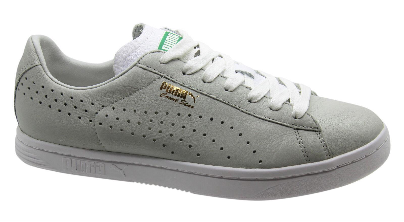 Puma Stelle a Corte NM shoes Sportive men Basse pelle grey con Lacci 357883