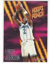 1994-95 HOOPS BASKETBALL POWER RATINGS LARRY JOHNSON #PR5 - CHARLOTTE HORNETS