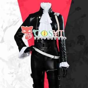 PROMARE-Lio-Fotia-Mad-Burnish-Cosplay-Costume-Halloween-Leather-Uniform-Suit