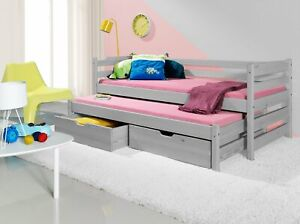 Single Bed Pull Out Drawers Two