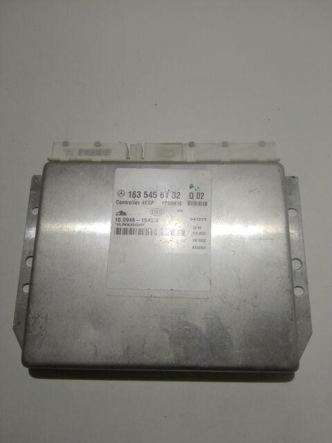 Mercedes ML ABS-ESP control module 1635456132