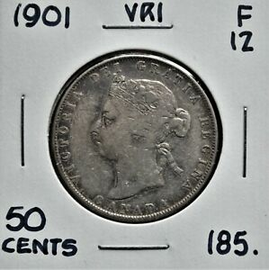 1901-Canada-50-Cents-F-12
