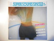 """MAXI 12"""" POP 80s  ▒ FUNTOMS : HOOLA RAP ( CLUB MIX 7'26 )"""