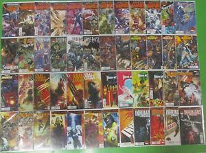 Secret-Wars-0-1-9-Minis-Run-Lot-48-Comics-Spider-Verse-Age-of-Apocalypse-Marvel