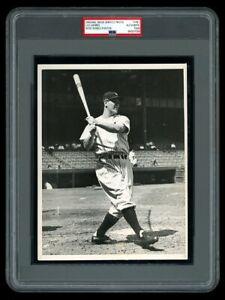 GORGEOUS 1936 Original Photo LOU GEHRIG Yankees HOME RUN SWING a BEAUTY !
