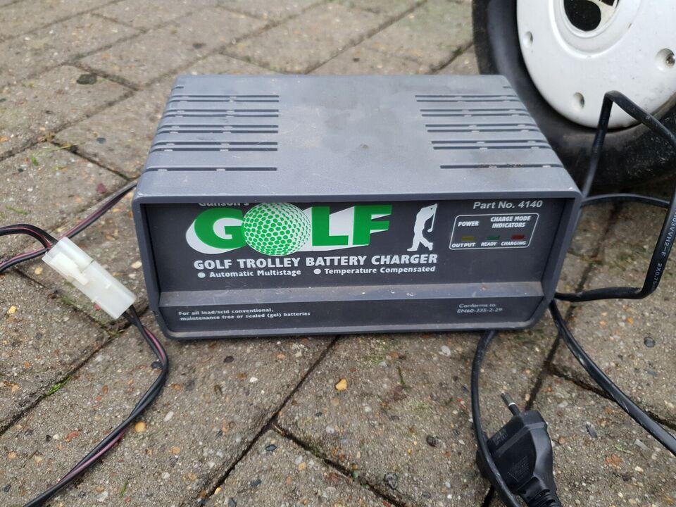 Golfvogn, Golf trolley