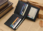 New Men's Business RFID Blocking Anti Theft Wallet ID/Credit Card Money Clip