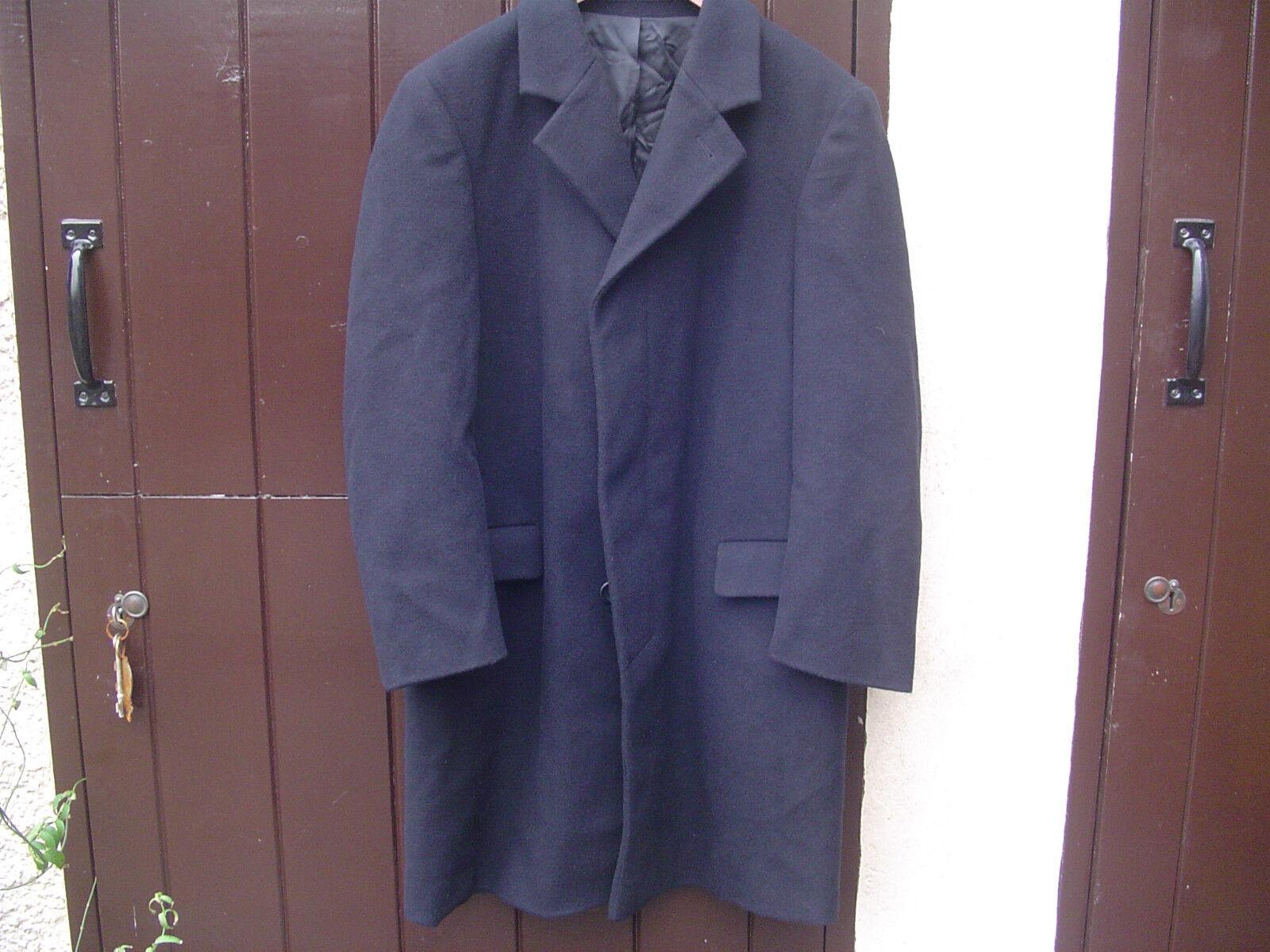 Varteks Cashmere Blend Navy Coat 38R
